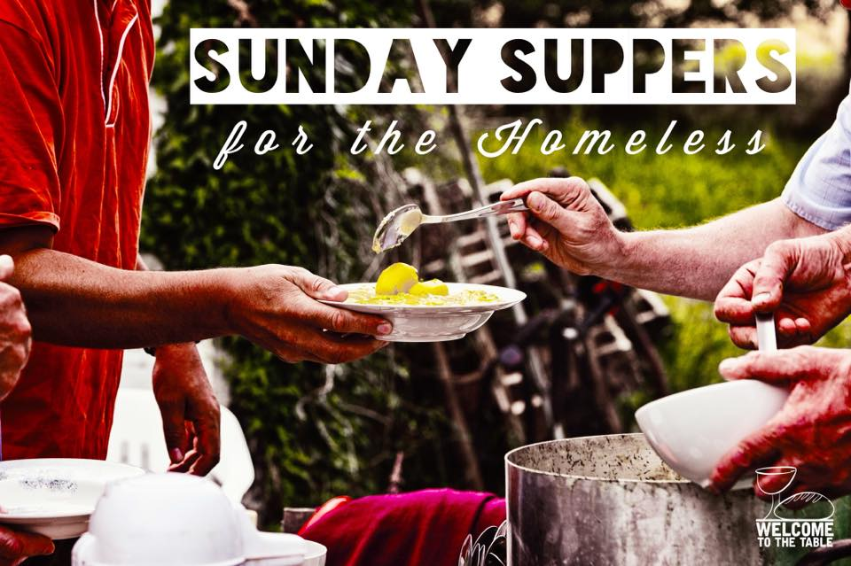 Sunday Suppers for the Homeless