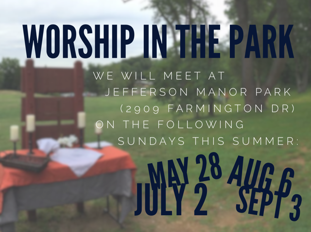 Worship in the Park