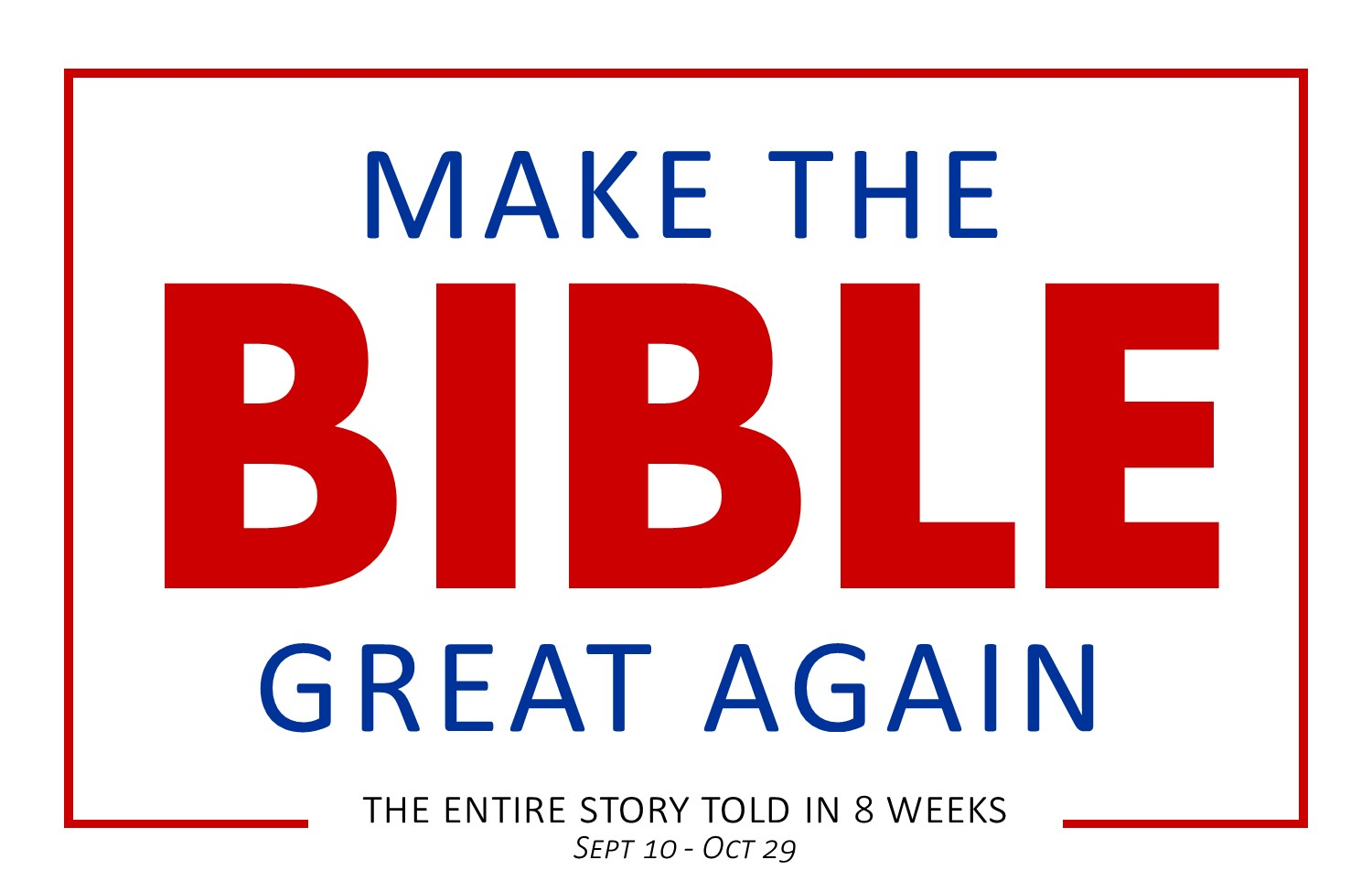 Make the Bible Great Again