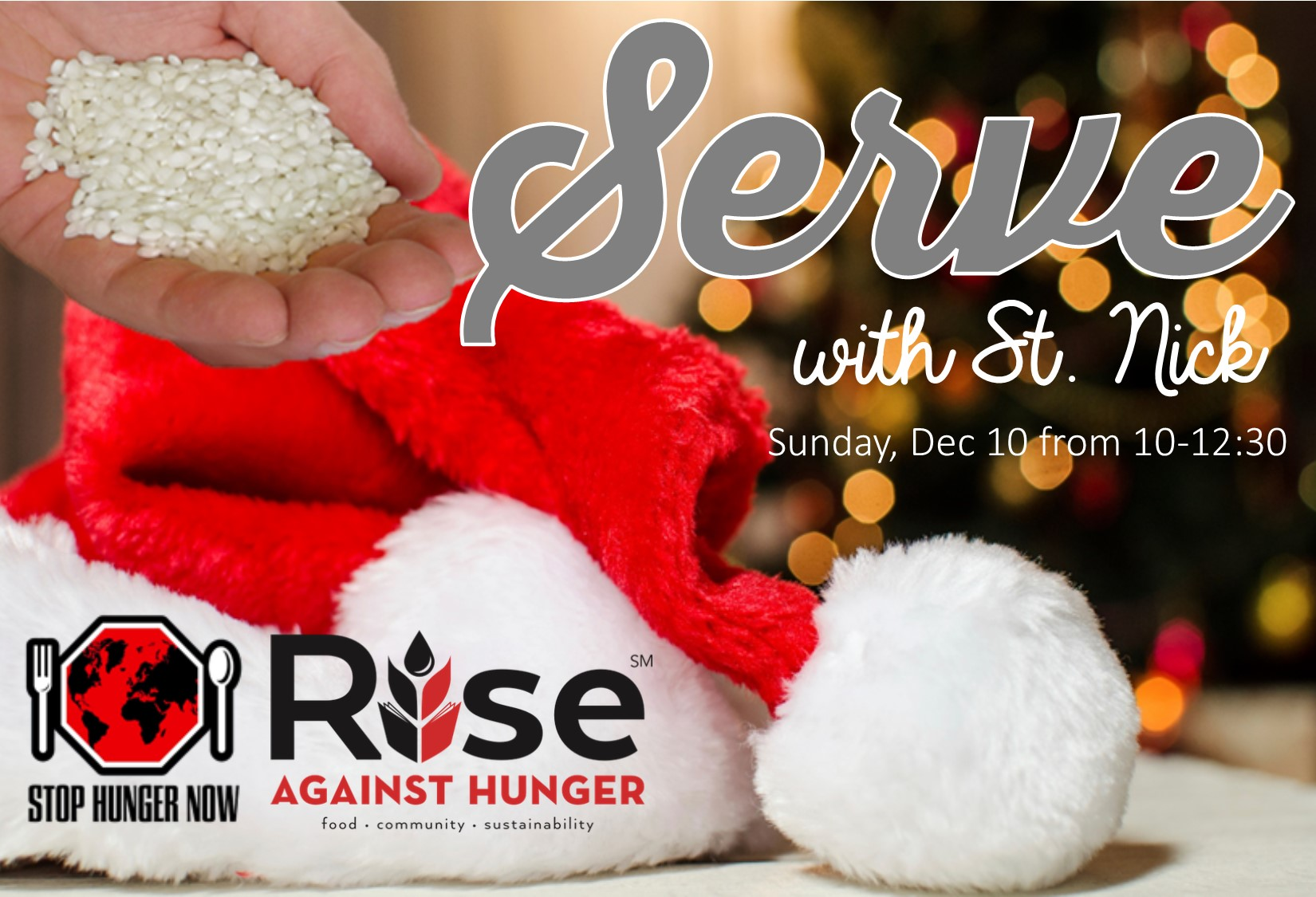 5th Annual Serve with St. Nick